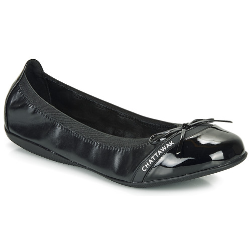 Chattawak CAPRICE Negro - Envío gratis | ! - Zapatos Bailarinas Mujer