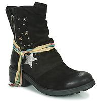Zapatos Mujer Botas de caña baja Felmini AZAFRINO Negro