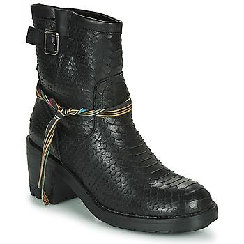 Zapatos Mujer Botines Felmini NAHA Negro