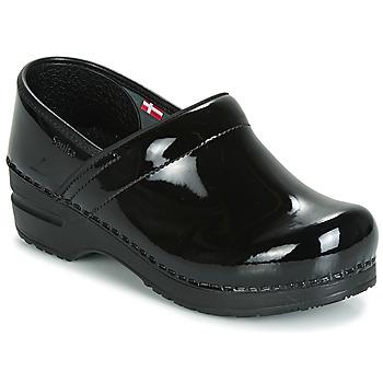 Zapatos Mujer Zuecos (Clogs) Sanita PROF Negro