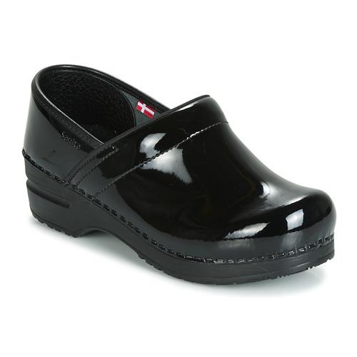 Sanita PROF Negro - Envío gratis | ! - Zapatos Zuecos (Clogs) Mujer
