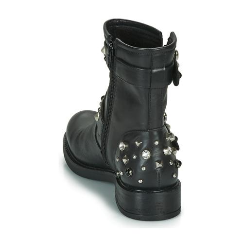 Botas Caña Mujer De Café Negro Baja Noir Charlie Zapatos dorCxeWB