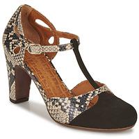 Zapatos Mujer Zapatos de tacón Chie Mihara KUNA Negro / Beige