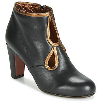 Zapatos Mujer Botines Chie Mihara KOSPI Negro / Oro