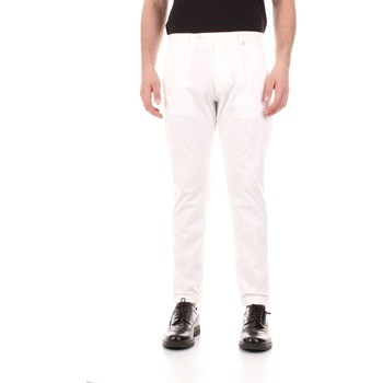 textil Hombre Pantalones con 5 bolsillos Bicolore F2576-ZINCO blanco