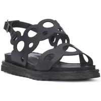 Zapatos Mujer Sandalias Fluchos SONO ITALIANA CRAST NERO Nero