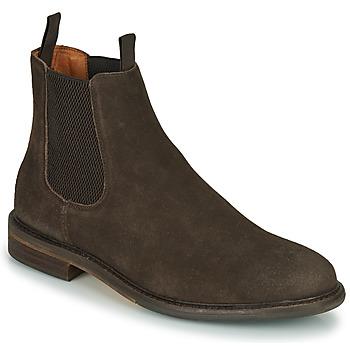 Zapatos Hombre Botas de caña baja Schmoove PILOT-CHELSEA Marrón