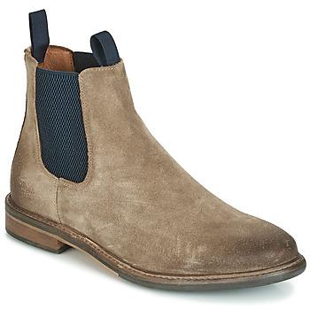 Zapatos Hombre Botas de caña baja Schmoove PILOT-CHELSEA Beige