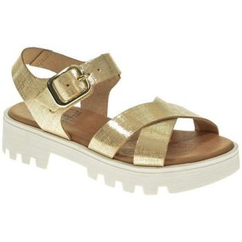 Zapatos Niña Sandalias Canalitas 3902 Plata