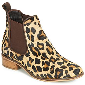 Zapatos Mujer Botas de caña baja Ravel GISBORNE Leopardo