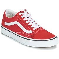 Zapatos Zapatillas bajas Vans OLD SKOOL Rojo