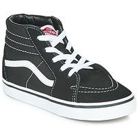 Zapatos Niños Zapatillas altas Vans TD SK8-HI Negro / Blanco