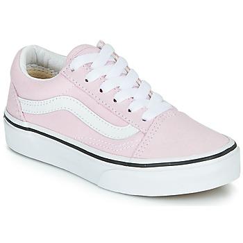 Zapatos Niña Zapatillas bajas Vans UY OLD SKOOL Rosa