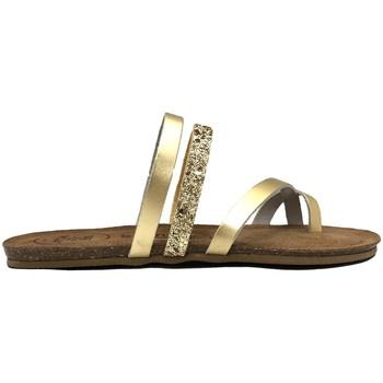 Zapatos Mujer Sandalias Amoa sandales LORGUES Or Oro