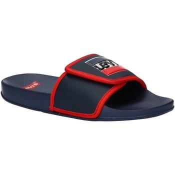 Zapatos Niños Chanclas Levi's VPOL0023S GAME Azul