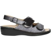 Zapatos Mujer Sandalias Clia Walk Estraibile410 antracita