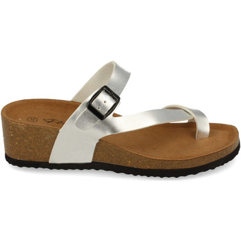 Zapatos Mujer Sandalias Shoes&blues M-28 Plata