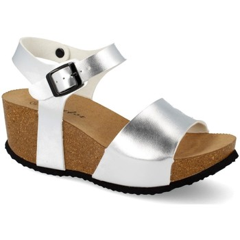 Zapatos Mujer Sandalias Shoes&blues M-77 Plata