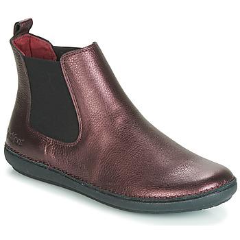 Zapatos Mujer Botas de caña baja Kickers FANTIN Violeta