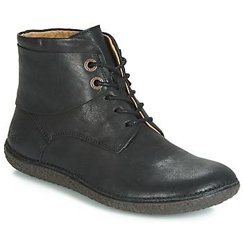 Zapatos Mujer Botas de caña baja Kickers HOBBYTWO Negro