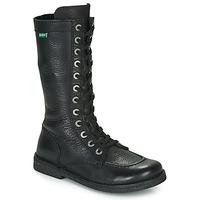 Zapatos Mujer Botas urbanas Kickers MEETKIKNEW Negro