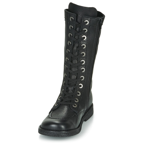 Meetkiknew Urbanas Kickers Zapatos Mujer Botas Negro IyY7f6gvb