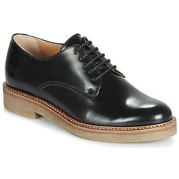 Zapatos Mujer Derbie Kickers OXFORK Negro