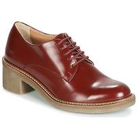 Zapatos Mujer Derbie Kickers OXYBY Rojo