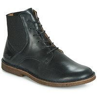 Zapatos Mujer Botas de caña baja Kickers TITI Negro