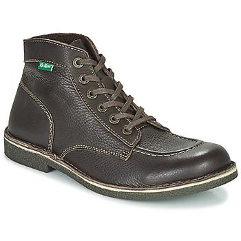 Zapatos Hombre Botas de caña baja Kickers KICKSTONER Marrón