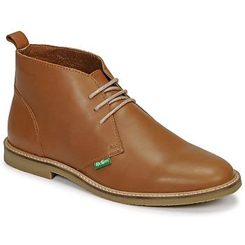 Zapatos Hombre Botas de caña baja Kickers TYL Camel