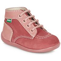Zapatos Niña Botas de caña baja Kickers BONBON Rosa