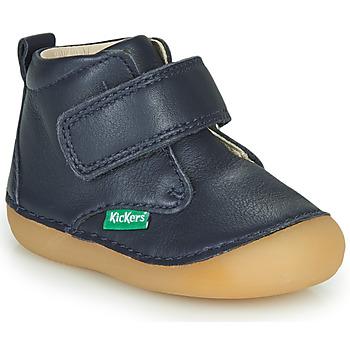 Zapatos Niño Botas de caña baja Kickers SABIO Marino
