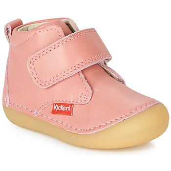 Zapatos Niña Botas de caña baja Kickers SABIO Rosa
