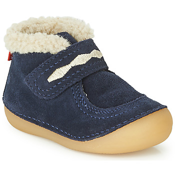 Zapatos Niños Botas de caña baja Kickers SOETNIC Marino