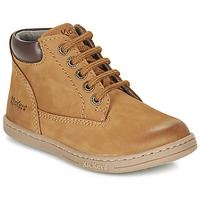Zapatos Niño Botas de caña baja Kickers TACKLAND Camel