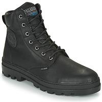 Zapatos Hombre Botas de caña baja Palladium PALLABOSSE SC WP Negro