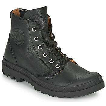 Zapatos Botas de caña baja Palladium PAMPA HI LTH UL Negro