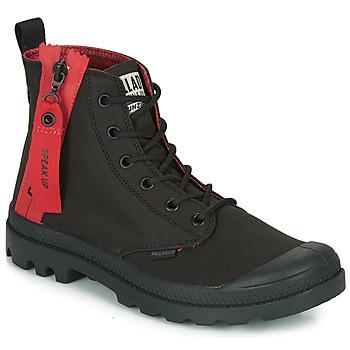 Zapatos Botas de caña baja Palladium PAMPA UNZIPPED Negro