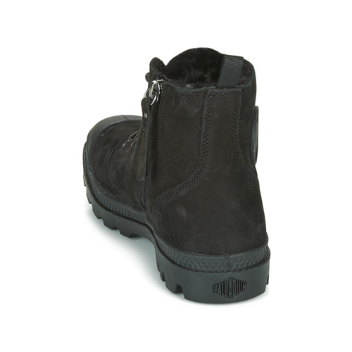 Zapatos Negro De Pampa Wl Baja Mujer Zip Caña Palladium Hi Botas yN8Pvm0wOn