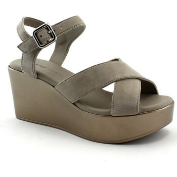 Zapatos Mujer Sandalias Frau FRA-E19-88C1-CO Beige