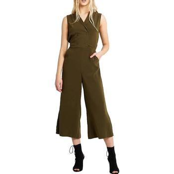 textil Mujer Monos / Petos Vila VIKAYA CROPPED BLAZER JUMPSUIT Verde