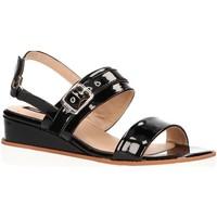 Zapatos Mujer Sandalias MTNG 50023 Negro