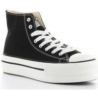 Zapatos Mujer Zapatillas altas Victoria TRIBU DOBLE1061101 Noir