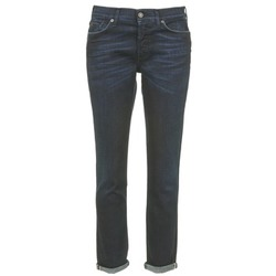 textil Mujer vaqueros slim 7 for all Mankind JOSEFINA Azul