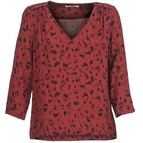 Textil See Soon TopsBlusas Mujer Burdeo Tririvier U EW9beDH2YI