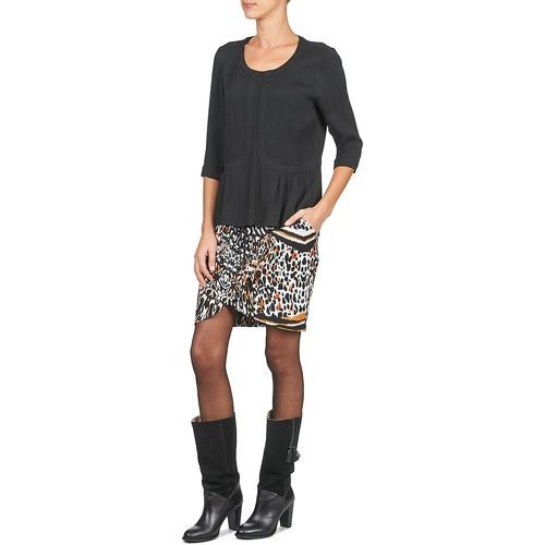 TopsBlusas Textil Mujer U Cabriou Negro Soon See stQhCxBrdo