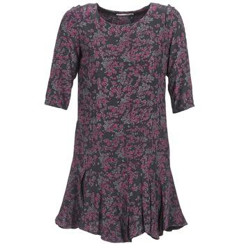 textil Mujer vestidos cortos See U Soon BOETICO Negro / Violeta