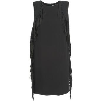 textil Mujer vestidos cortos See U Soon LOUBIRA Negro