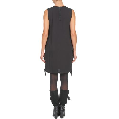 See Cortos Textil Mujer Soon Vestidos Negro Loubira U m8wv0Nn